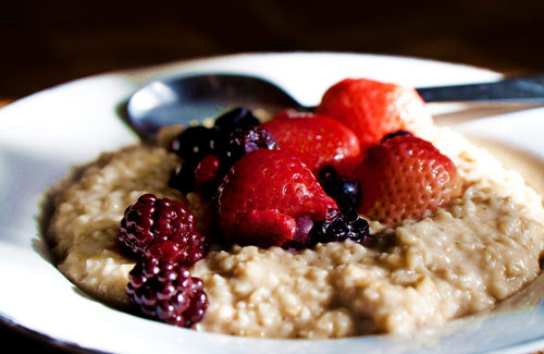 Adding a high carbohydrate pre-workout meal is a good place to start.